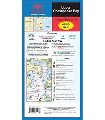 Number 1 Charts 2014 Maptech Upper Chesapeake Bay Waterproof Chart 4th Edition 2014