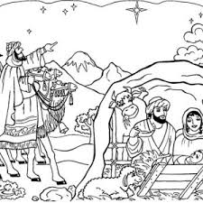 Small Picture Glory to the Newborn King in Nativity Coloring Page Color Luna