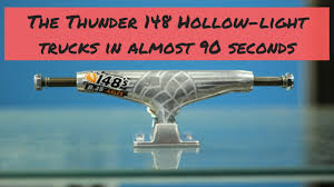 The Thunder 148 Hollow Light Trucks In Almost 90 Seconds