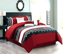 red and black king size comforter sets brown set queen white blue gold
