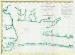 Preliminary Chart Of The Entrance To Matagorda Bay Texas