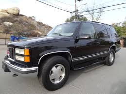 1999 GMC Yukon SLT SUV 4x4 Tahoe 350 V8 Full Review Video - YouTube