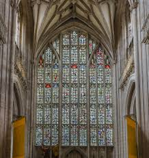 file winchester cathedral mosaic stained glass hampshire uk diliff jpg