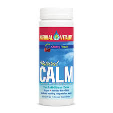 natural vitality natural calm cherry 8oz