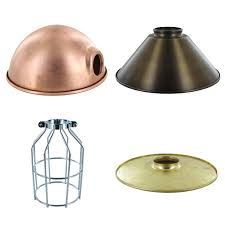 metal lamp shades parts lighting chandelier 0 best 25 industrial intended for small decor 8