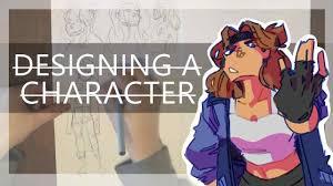 Character Design Oc Making An Oc My Character Design Process
