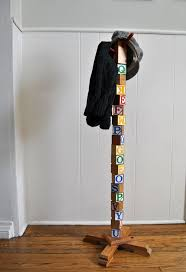 Make Standing Coat Rack DIY How To Make A Standing Coat Rack Out Of Wood Plans Free 14