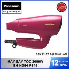 Máy sấy tóc 2000W Panasonic EH-ND64-P645 sản xuất Thái Lan - Hàng chính  hãng bảo hành 12 tháng - 625,000 | SanHangRe.net | Máy sấy tóc, Tóc, Thái  lan