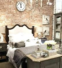 faux brick accent wall bedroom idea to decorate a behind your bed living diy