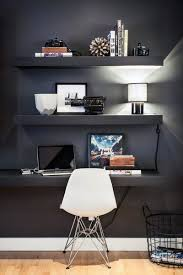 manly office decor image small stlye. exellent decor black wall small home office ideas with manly decor image stlye