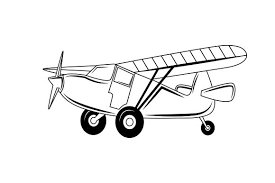 The plane's are holding up the farewell banner. Bush Plane Svg Cut File By Creative Fabrica Crafts Creative Fabrica