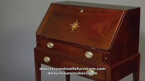 top furniture makers. Slant Top Desk Handmade By Doucette And Wolfe Furniture Makers L