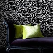 wild animal print wallpaper. Plain Print Animal Print Wallpaper Paired Up With Satin And Velvet Very Luxurious And Wild Print Wallpaper P