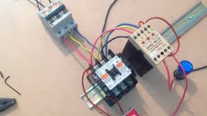 phase failure and under over vole master control motor circuits protection relay