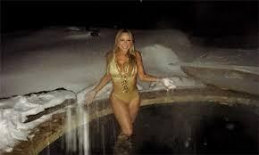 Mariah Carey Archives   FABZZ Mariah Carey Suffer N p Slip On Beach In Bikini With Her Boyfriend