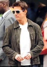 jack harper oblivion brown jacket