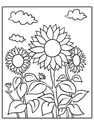 Beautiful kindergarten coloring page 17 with additional coloring. Printable Summer Coloring Pages Parents