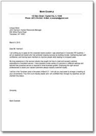 Sample Resume Cover Letter For Applying A Job Cover Letter Ideas