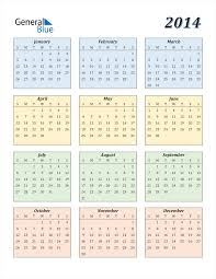 These calendars let you insert pictures into the boxes, change font colors for individual events, change the. 2014 Calendar Pdf Word Excel