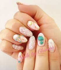Seashell inspired nails Japanese nail art by Chihiro! - Yelp