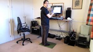 motorized standing desk home office