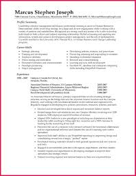 Professional Summary For Resume Sop Examples