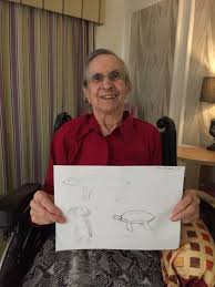 Leamington Spa care residents take part in online drawing workshop |  InYourArea Community