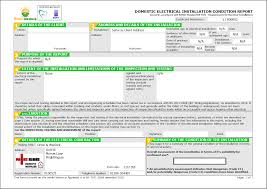 electrical installation condition reports example of an eicr electrical installation condition report