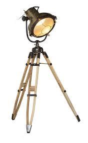Stoere Vloerlamp Met Houten Poten Rofra Home Vloerlamp