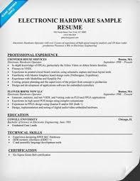 E Resume Examples 91 Images Gilbert E Resume Electronics