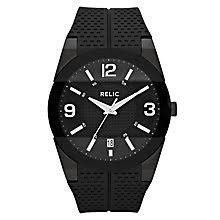 relic watches fashion watches h samuel relic men s black dial black rubber strap watch product number 4609204