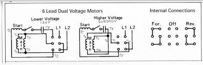 single phase dual voltage motor wiring diagram single phase motor with capacitor forward and reverse wiring diagram at Single Phase Motor Forward Reverse Wiring Diagram