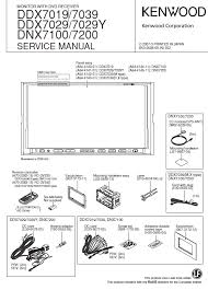 kenwood dnx7100 service manual pdf kenwood ddx7019 7039 7029 dnx7100 7200 monitor dvd receiver service manual