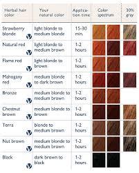 Lush Henna Hair Dye Color Chart Bedowntowndaytona Com
