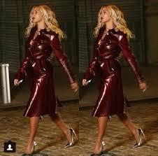 coat beyonce trench coat leather coat holidays 2016 leather jacket burdy gold oxblood wheretoget