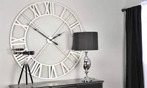 Small Picture large designer wall clock for inspiration Wall Clocks