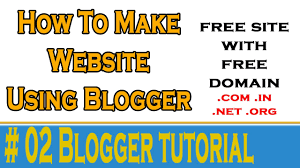 2 how to make blogger site 2 how to make blogger site