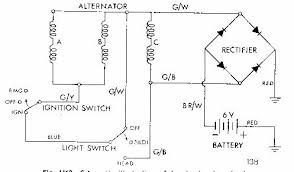 6chgsm jpg Three Wire Alternator Wiring Diagram this is a diagram lifted from the triumph 650 manual it shows a 3 wire alternator, with output wires being the main two, g w and g b, always connected, gm three wire alternator wiring diagram