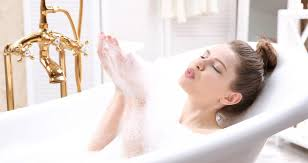 take a bath and relax with bathroom accessories