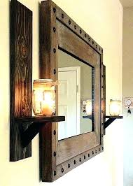 large rustic wall mirror wall mirrors large rustic wall mirror wood framed wall mirrors wooden wall