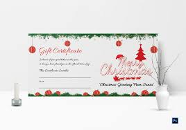 Gift Certificate Template Printable Merry Christmas Gift Certificate Templates Cumed Org