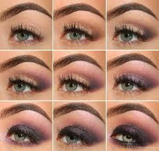 deep purple smokey eye makeup tutorial
