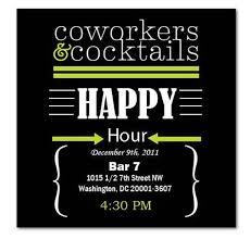 Happy Hour Invitation Template Happy Hour Invite Wording Samples Invitation Templates Happy