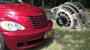 2006 Pt Cruiser Battery Light On Pt Cruiser Alternator Replacement Complicated As Usual