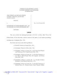 UNITED STATES DISTRICT COURT EASTERN DISTRICT OF TENNESSEE AT KNOXVILLE  JESSE PIERCE and MICHAEL PIERCE, ) on behalf of themse