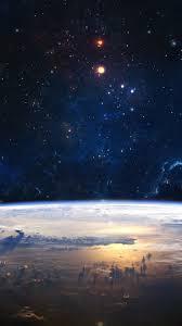 iphone 6 wallpaper earth. Plain Wallpaper Stars Outer Space Earth Sun IPhone 6 Wallpaper In Iphone E