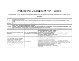 Unique Personal Development Plan Template Www Pantry Magic Com
