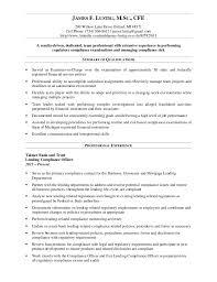 Bank Compliance Officer Resume Sales Officer Lewesmr