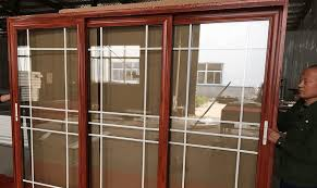 aluminium sliding door double glazed