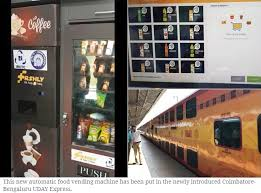 Vending Machine Accidents Simple IRCTC Installs Firstofitskind Automatic Food Vending Machine In